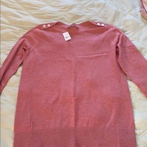 LOFT NWT pink sweater